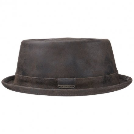 Hatter - Stetson Hobbs Leather (brun)