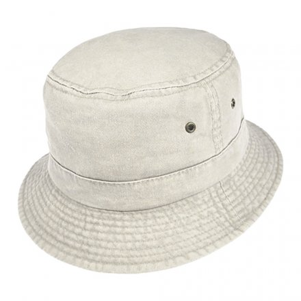 Hatter - Cotton Bucket Hat (putty)