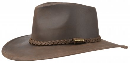 Hatter - Stetson Farwell Leather (brun)