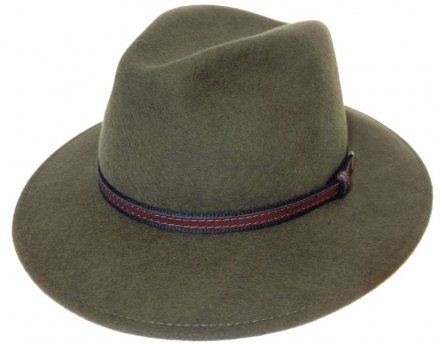 Hatter - Faustmann Lavello Pinch Crown (khaki)