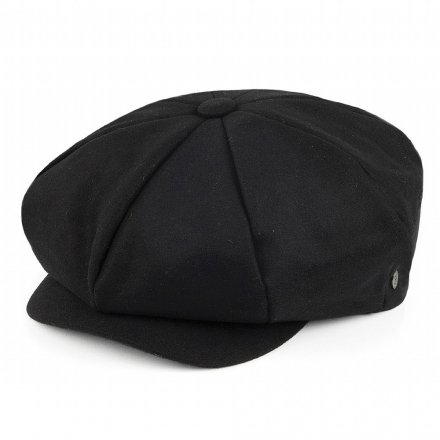 Sixpence / Flat cap - Jaxon Big Apple Cap (sort)