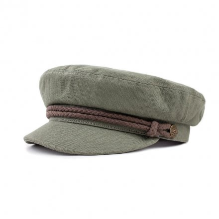Sixpence / Flat cap - Brixton Fiddler (light olive/brown)