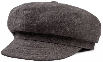 Sixpence / Flat cap - Brixton Thirsty (washed black)