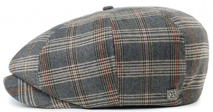 Sixpence / Flat cap - Brixton Brood (grey/tan plaid)