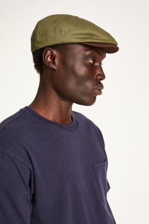 Sixpence / Flat cap - Brixton Brood (light olive/brown)