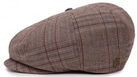 Sixpence / Flat cap - Brixton Brood (taupe plaid)