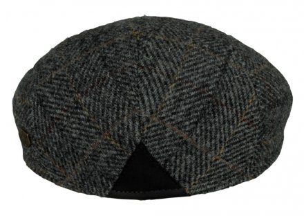 Sixpence / Flat cap - MJM Country Harris Tweed (grå)
