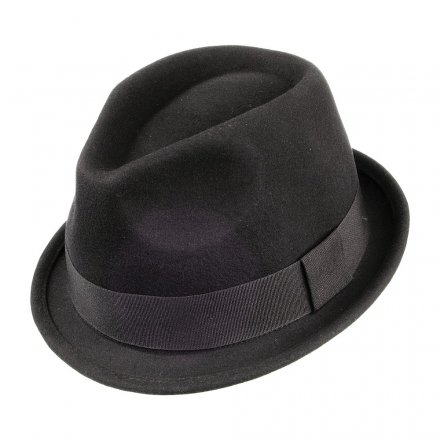Hatter - Crushable Dekker Trilby (sort)