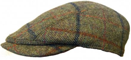Sixpence / Flat cap - Lawrence and Foster Linton (grønn tweed)