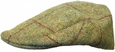 Sixpence / Flat cap - Lawrence and Foster County (grønn tweed)