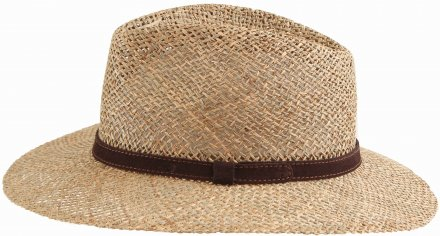 Hatter - Gårda Arese Seagrass Fedora (natur)