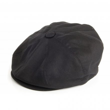 Sixpence / Flat cap - Jaxon Hats Pique Cotton Knit Newsboy Cap (sort)