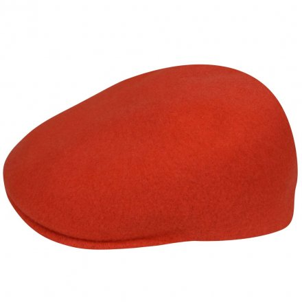 Sixpence / Flat cap - Kangol Seamless Wool 507 (orange)
