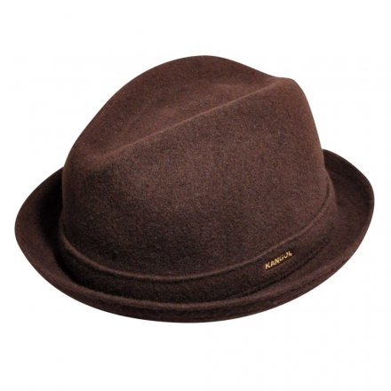 Hatter - Kangol Wool Player (brun)