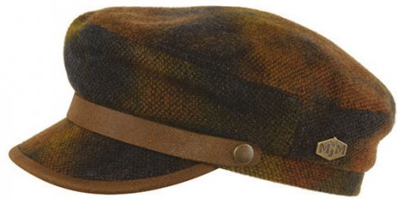 Fiddler cap - MJM Marines Wool (brun)