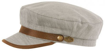 Fiddler cap - MJM Marines Cotton (grå)
