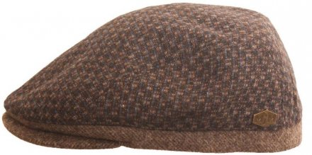 Sixpence / Flat cap - MJM Daffy Wool (brun check)