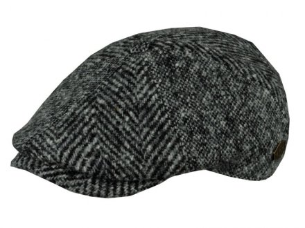 Sixpence / Flat cap - MJM Rebel Wool Patch (grå)