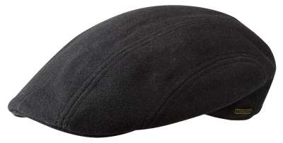Sixpence / Flat cap - Stetson Madison Wool/Cashmere (sort)
