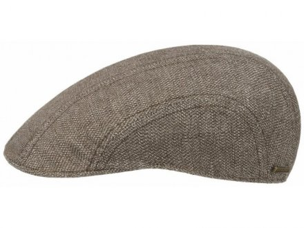 Sixpence / Flat cap - Stetson Madison Cotton/Linen (brun)