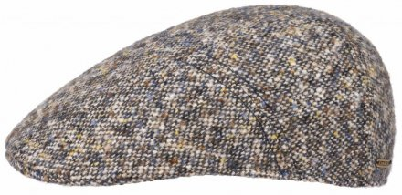 Sixpence / Flat cap - Stetson Ivy Cap Donegal Tweed (blå mix)