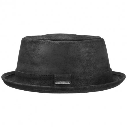 Hatter - Stetson Hobbs Leather (sort)