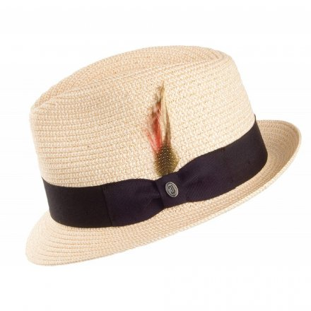 Hatter - Toyo Braided Trilby (natur)