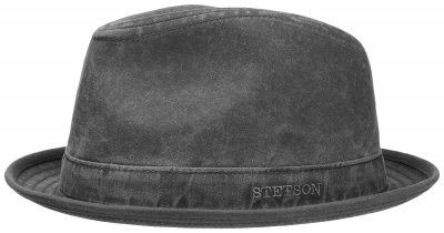 Hatter - Stetson Player Organic Cotton (sort-grå)