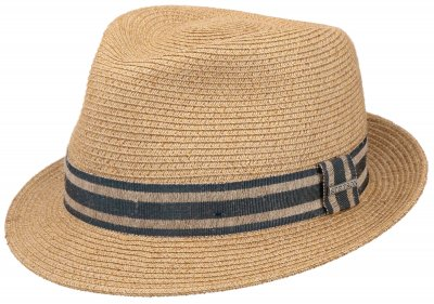 Hatter - Stetson Player Linen Mix (natur)