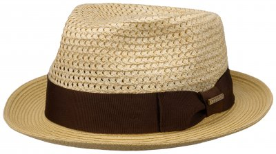 Hatter - Stetson Chimayó Toyo Trilby (natur)