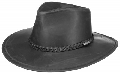 Hatter - Stetson Farwell Leather (sort)