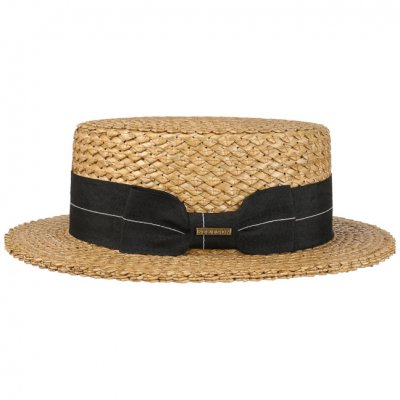Hatter - Stetson Boater Vintage Wheat (natur)