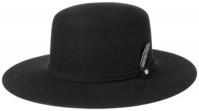 Hatter - Stetson Open Crown Woolfelt (sort)