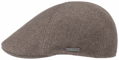 Sixpence / Flat cap - Stetson Texas Wool/Cashmere (taupe)