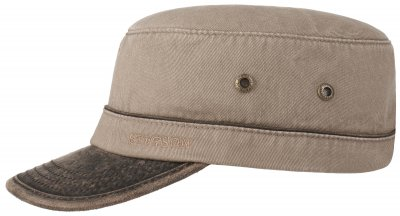 Sixpence / Flat cap - Stetson Army Cap Cotton (sand)