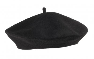 Alpelue - Wool Fashion Beret (sort)