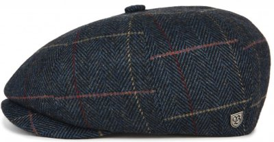 Sixpence / Flat cap - Brixton Brood (navy plaid)