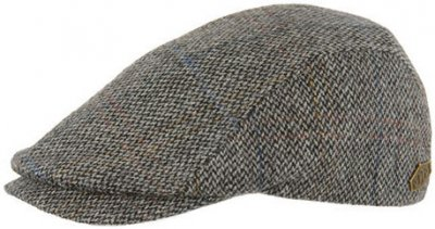 Sixpence / Flat cap - MJM Daffy EL Virgin Wool (grå)