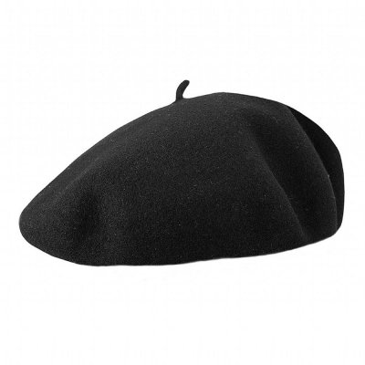 Alpelue - Jaxon Hats Basque Beret (sort)
