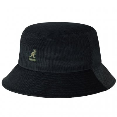 Hatter - Kangol Cord Bucket (sort)