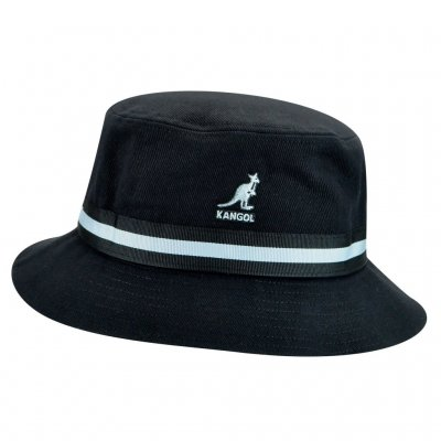 Hatter - Kangol Stripe Lahinch (sort)