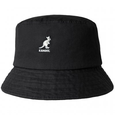 Hatter - Kangol Washed Bucket (sort)