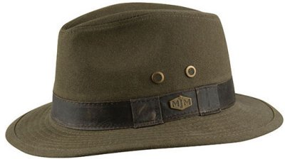 Hatter - MJM Outback Washed Canvas (oliven)