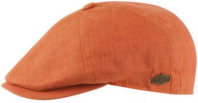 Sixpence / Flat cap - MJM Rebel Linen (orange)