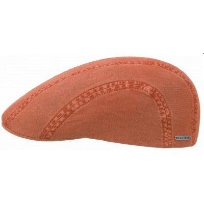 Sixpence / Flat cap - Stetson Madison Cotton (orange)