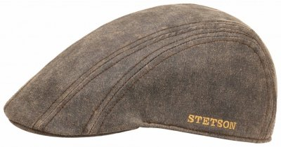 Sixpence / Flat cap - Stetson Madison Old Cap Winter (brun)