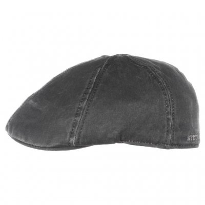 Sixpence   Flat cap - Stetson Level (sort) - Sixpence   Flat caps ... 8db6765fb3d