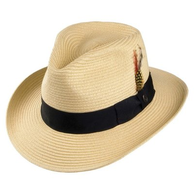 Hatter - Summer C-Crown Fedora (natur)