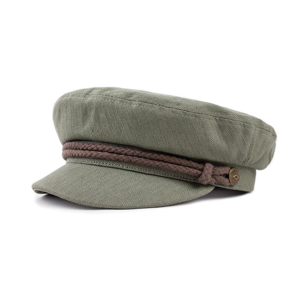 747a687f78be0 Sixpence   Flat cap - Brixton Fiddler (light olive brown)